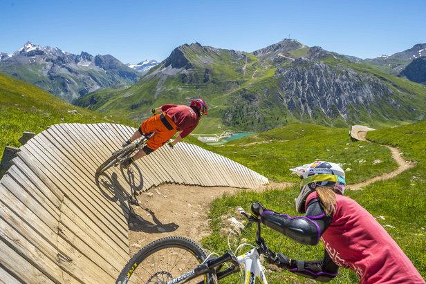Quoi de neuf sur le Bike Park de Tignes cet été ?Tristan Shu