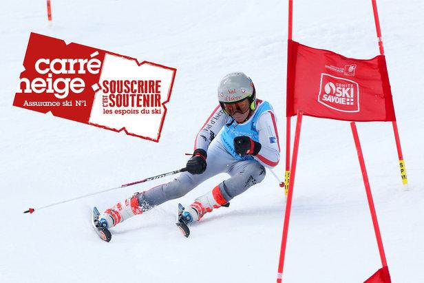 Carré Neige, l'assurance ski qui soutient le mouvement sportif- ©Comité Ski Savoie
