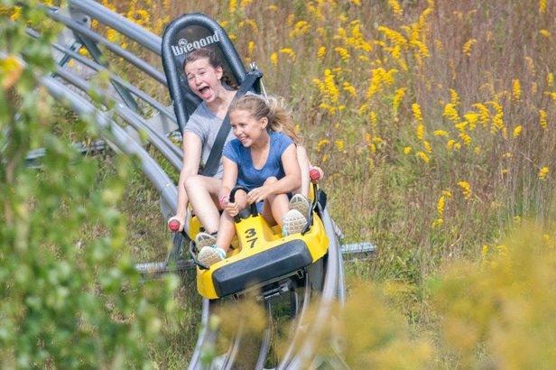 Cranmore Mountain Adventure Park mountain coaster.  - © Cranmore Mountain