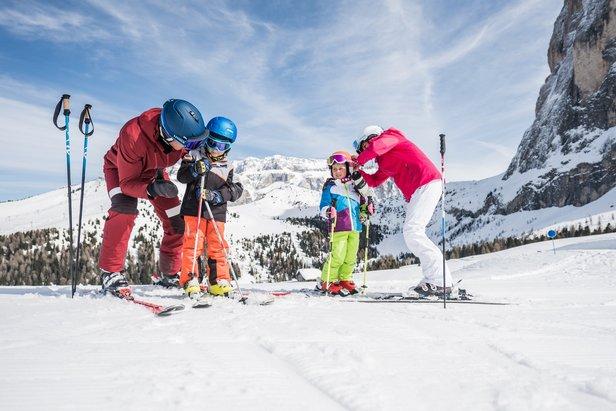 Dolomiti Superski - lyžařská oblast, kde se děti cítí opravdu dobře