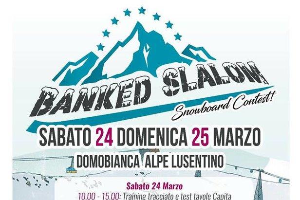 Domobianca - Banked Slalom Snowboard Contest  - © www.domobianca.it