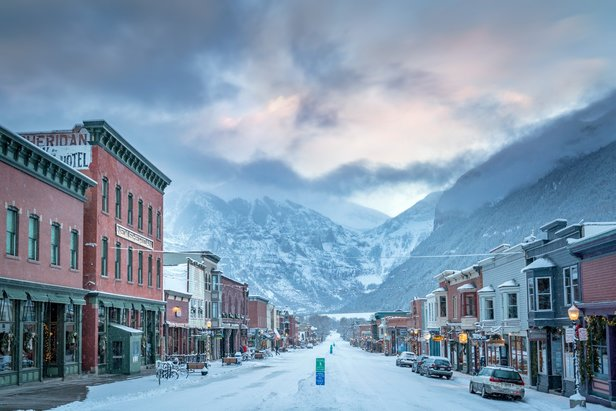 There are no chain stores or fast food restaurants in Telluride; the nearest stoplight is 45 miles away.  - © Visit Telluride/Ryan Bonneau