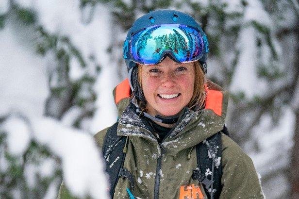 Kaylin Richardson, sciatrice professionista  - © Cam Mc Leod