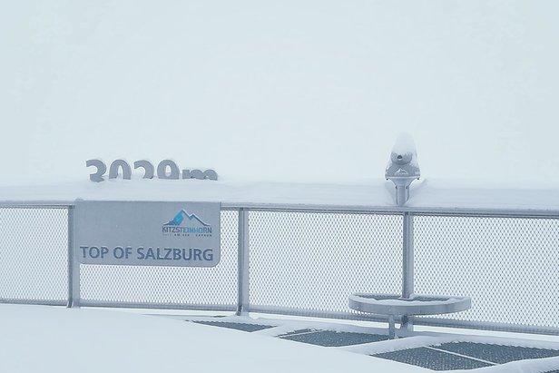 Schneebericht: Neuschnee im Alpenraum- ©Facebook Kitzsteinhorn