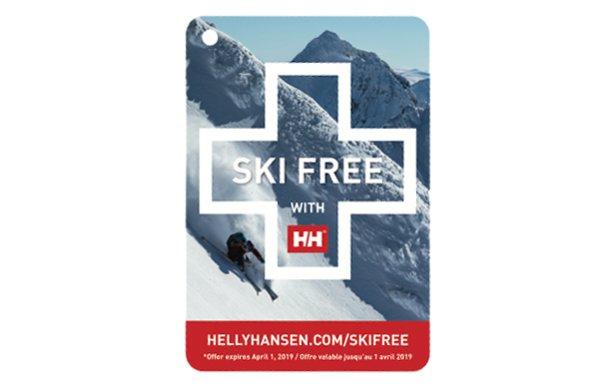 Obtenez votre journée de ski gratuite avec Helly Hansen