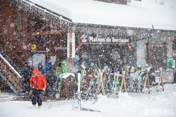 Obrázky z Álp: Napadlo už 80 cm snehu!Meribel Coeur des 3 Vallees | Facebook