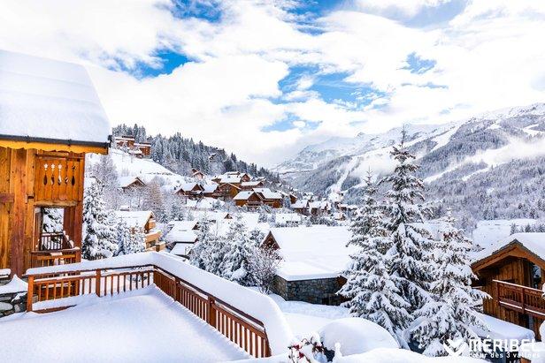 Snowiest ski resort of the week (Dec. 3-9)Méribel Coeur des 3 Vallées/Facebook