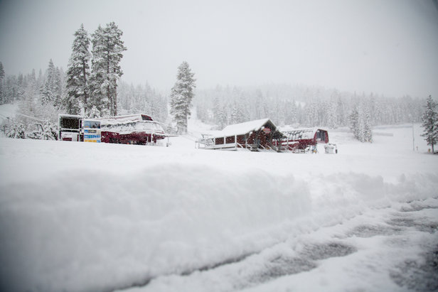 Who Got the Most Snow This Week? ©Northstar California Resort