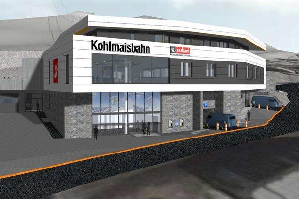 Die Kohlmaisbahn wird ab 2018/2019 neu sein  - ©  Tourismusverband Saalbach Hinterglemm