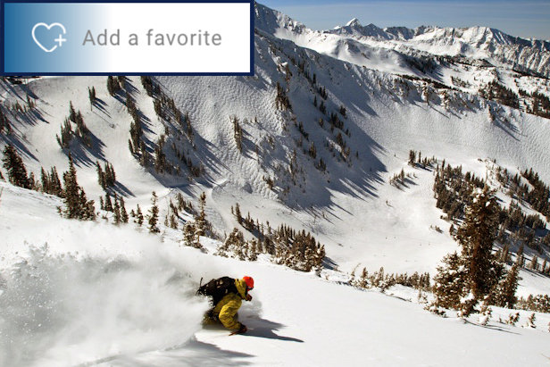 OnTheSnow's new Favorites feature allows you to keep close tabs on your resorts.