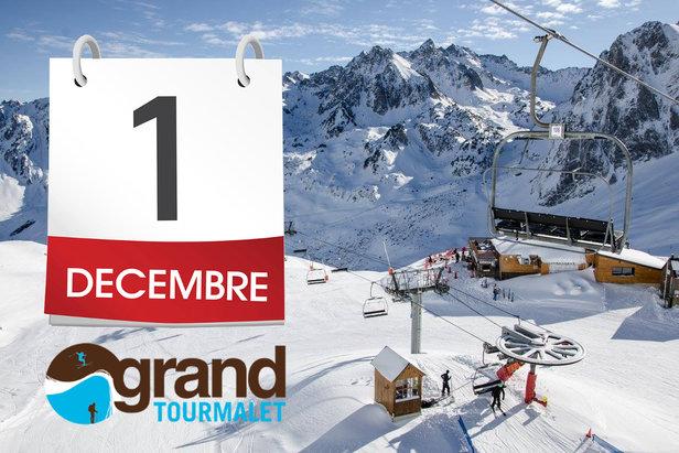 J-3 semaines au Grand Tourmalet (ouverture dès le 1er décembre)- ©Office de tourisme Tourmalet - Pic du Midi