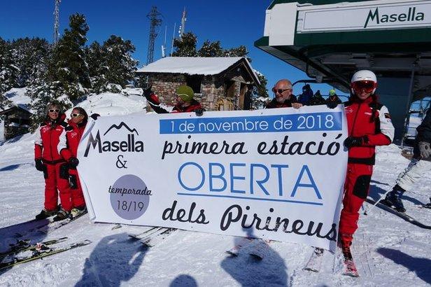 Ouverture avant l'heure pour Masella- ©Station de ski de Masella