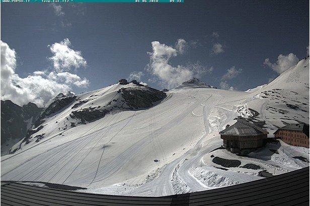 E' iniziata la stagione dello sci estivo a Passo Stelvio!Passo Stelvio