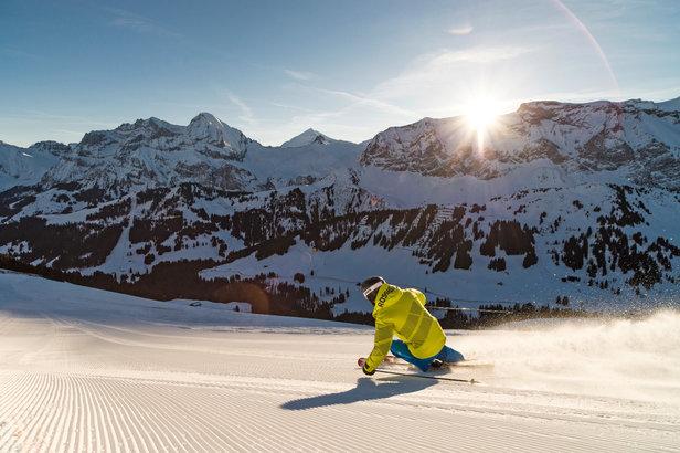 L'Oberland bernois, paradis des vacances à la neige- ©Adelboden Tourismus / Roger Gruetter