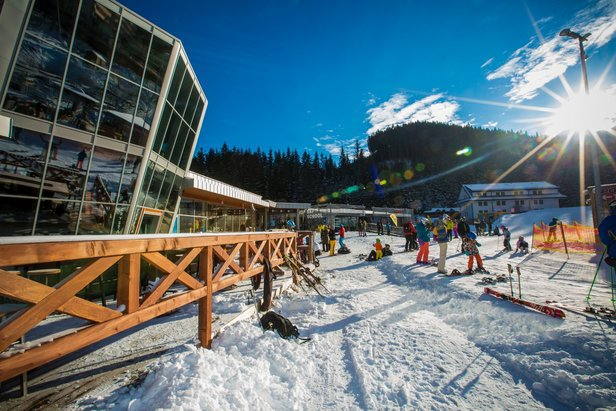 Prvý lyžiarsky víkend v Jasnej