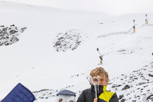 Der erste Schnee der Saison: Skigebiete in den Alpen melden bis zu 50cm Neuschnee ©Sölden