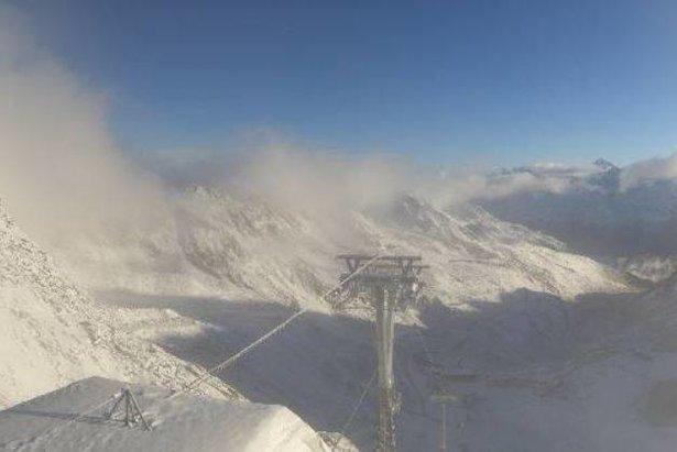 Nach Neuschnee: Sölden startet in den Skibetrieb- ©Facebook Sölden