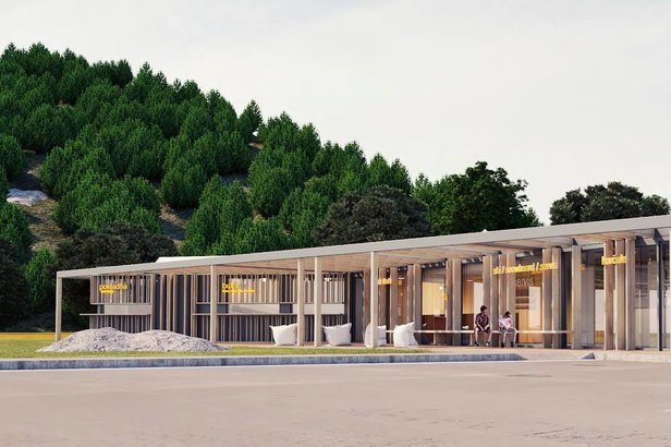 Salamandra Resort: Výstavba novej multifunkčnej budovy pri dojazde zjazdovkySalamandra Resort