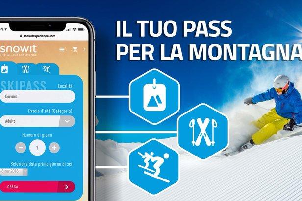 Snowit: skipass, noleggio attrezzatura ed esperienze...tutto in un' App ©Snowitexperience.com