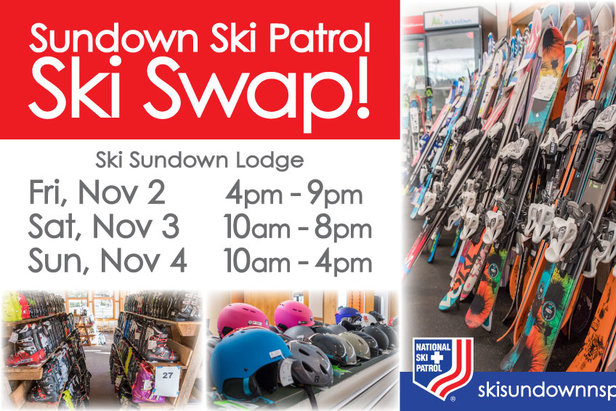 Sundown Ski Patrol Ski Swap  ©Ski Sundown