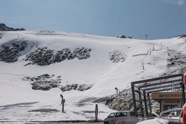 Nach Neuschnee: Sölden startet in den Skibetrieb- ©Sölden