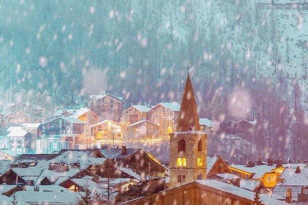 Beautiful Val d'Isere last December