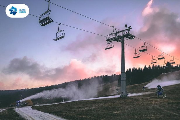 Armatki poszły w ruch- ©FB Zieleniec Ski Arena