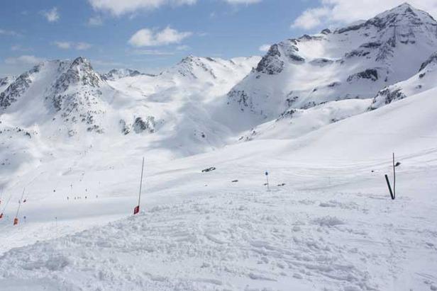 Nieve polvo en Semana Santa