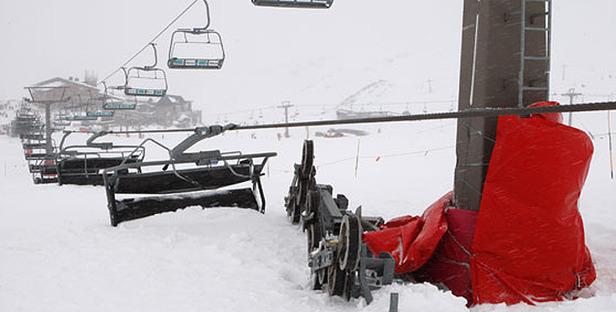 23 Skifahrer bei Liftunglück in der Sierra Nevada verletzt