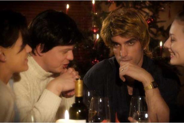 whams last christmas video re created in saas fee - Last Christmas Wham