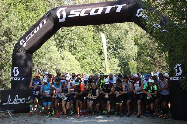 Scott Trail du Val d'Allos- ©office de tourisme du val d'allos