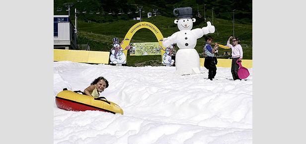 Serfaus - Sommer Schneewelt