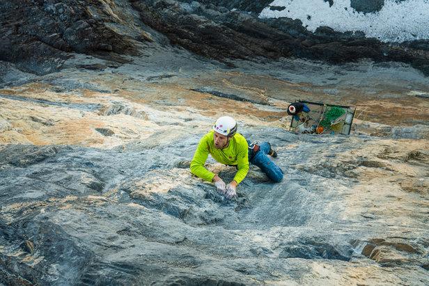 Erstbegehung Silberrücken an der Jungfrau