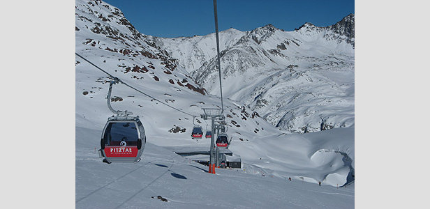 Pitztal Opens for Winter 2008 - 2009