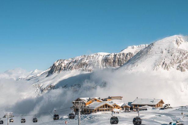 40cm+ of snow in Val d'Isere this week