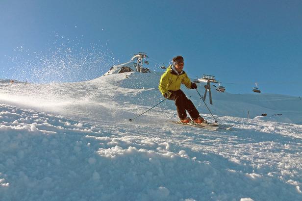 Ski-Safari in der Tiroler Zugspitz Arena: Durch Berwang und Grubigstein- ©Markus Hahn