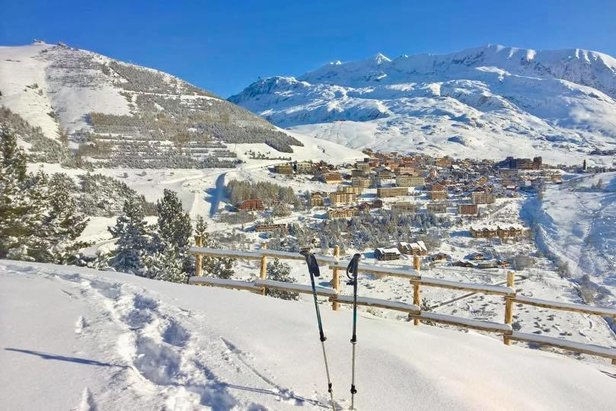 Alpe d'Huez 16/11/19  - © Alpe d'Huez/Facebook