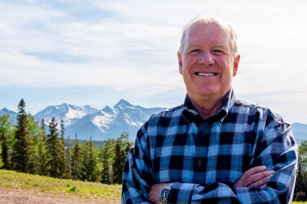Bill Jensen, Ski industry icon advises on resort icon  - © Telluride News photo