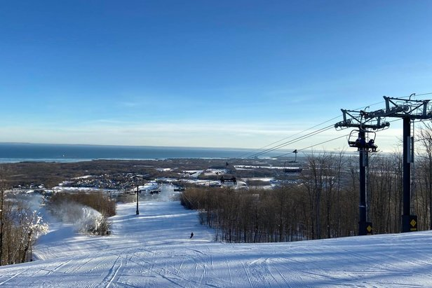 Blue Mountain is forced to close for 28 days just 6 days after opening for the season.  - © Blue Mountain Facebook