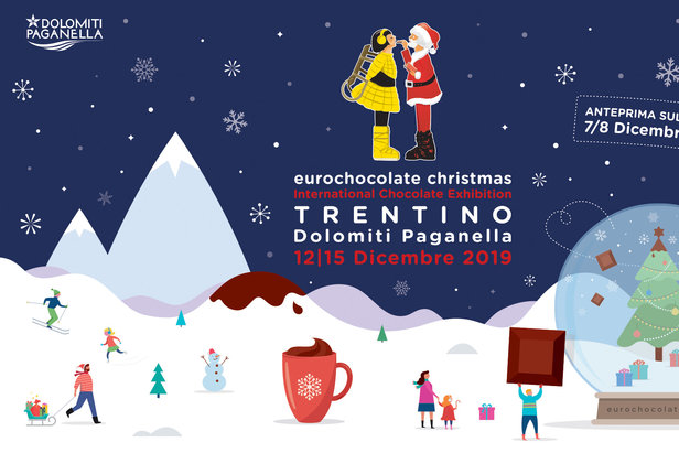 Eurochocolate Christmas 2019 in Paganella  - © Visitdolomitipaganella.it