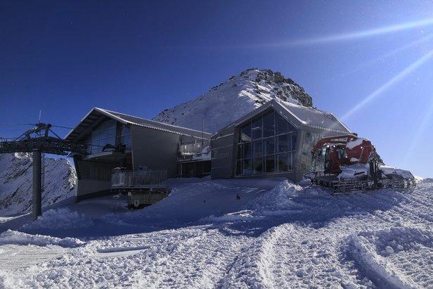 Ledovec Presena 04.11.2019  - © Pontedilegno - Tonale Facebook