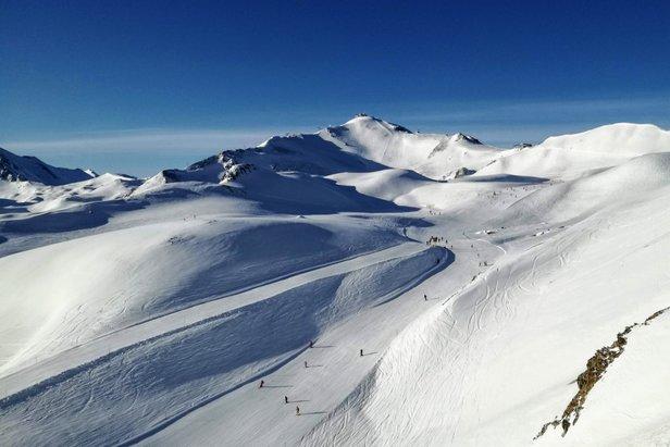 Greitspitz (2.872 m npm) to najwyższy szczyt w ośrodku Ischgl/Samnaun