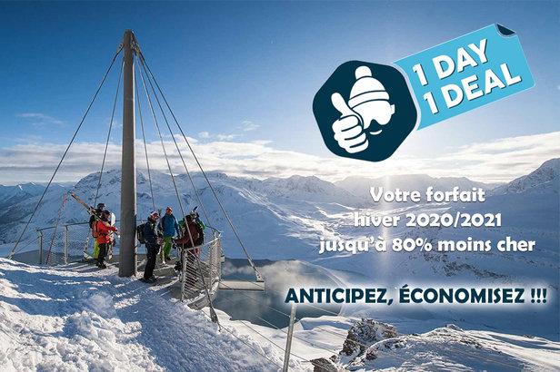 Cette année encore, la station de Val Cenis réitère son opération de mise en vente anticipée de ses forfaits de ski pour l'hiver prochain. Objectif : proposer des forfaits de 25 à 80% mois chers qu'en pleine saison hivernale...