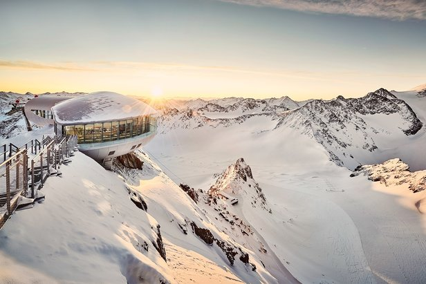 Lodowiec Pitztal  - © Pitztaler Gletscher