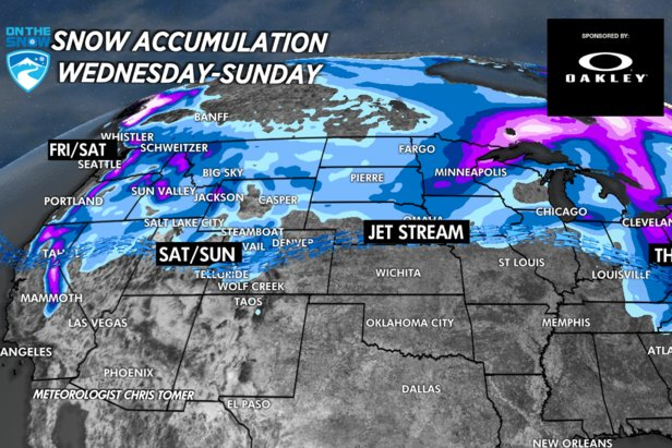 See who's getting the most Christmas snow in this week's Snow Before You Go forecast