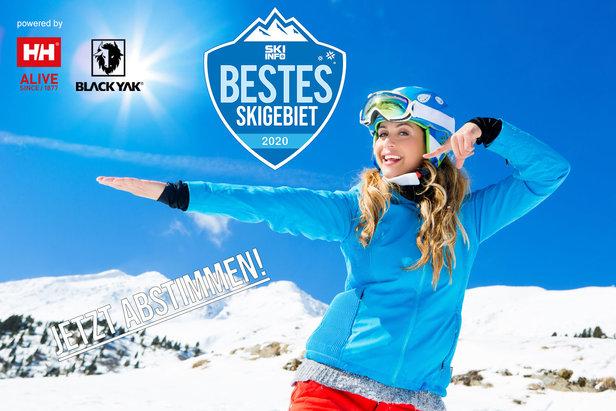 Der Skiinfo Skigebietsaward 2019/2020: Jetzt abstimmen und gewinnenSkiinfo