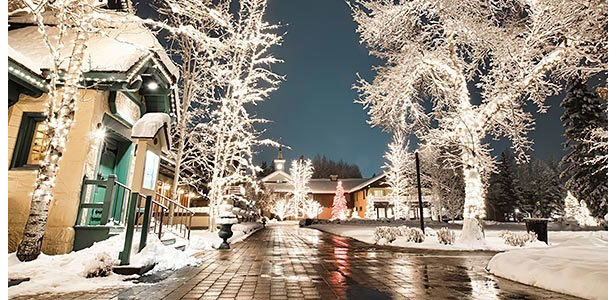 Christmas is magical at Sun Valley