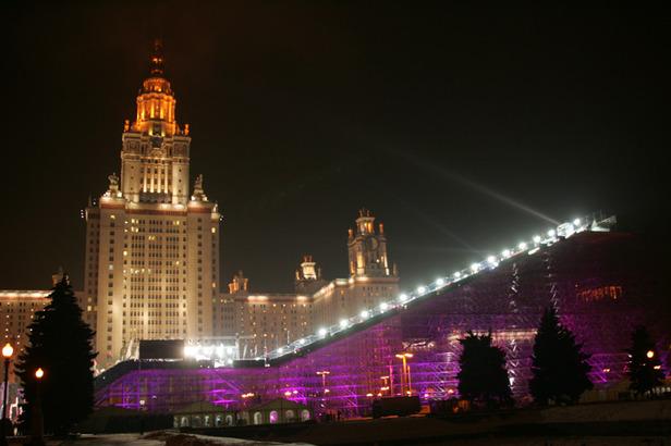 Weltcup-Promotion: Skistars treten in Moskau an ©www.newliga.ru