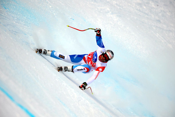 Weltcup-Abfahrt in Sotschi: Geburtstagskind Feuz gewinnt auf der Olympiastrecke von 2014- ©Vianney THIBAUT/Agence Zoom
