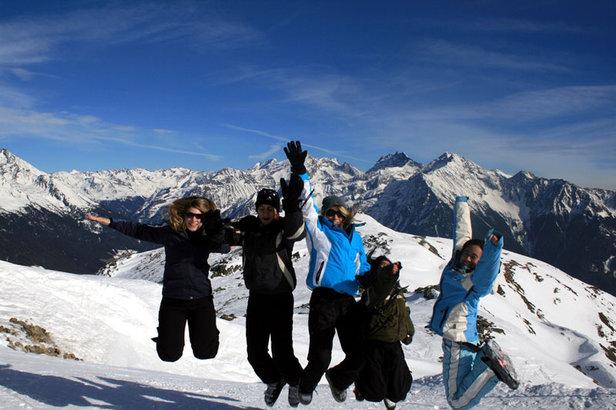 Skier richtig bemessen: Längenempfehlung für Kinderski- ©flexrider